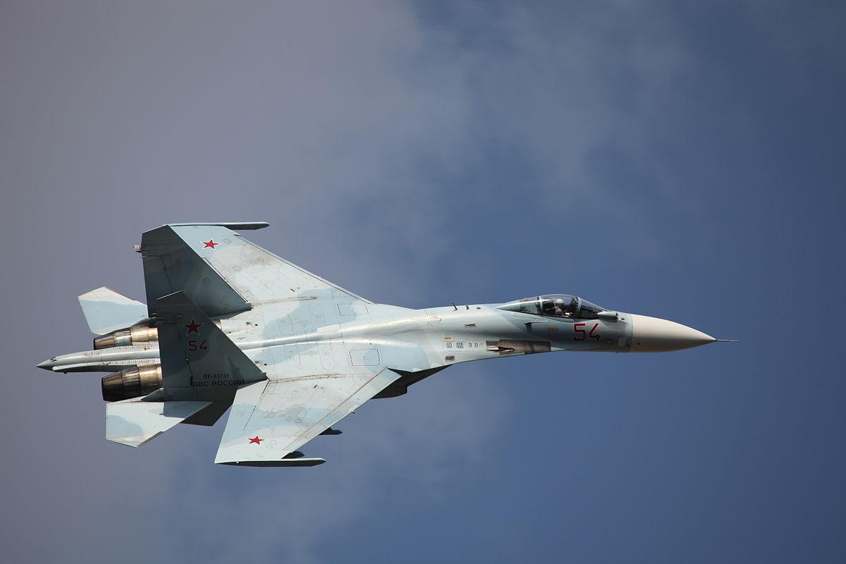 В Финляндии заявили о нарушении границы российскими Су-27