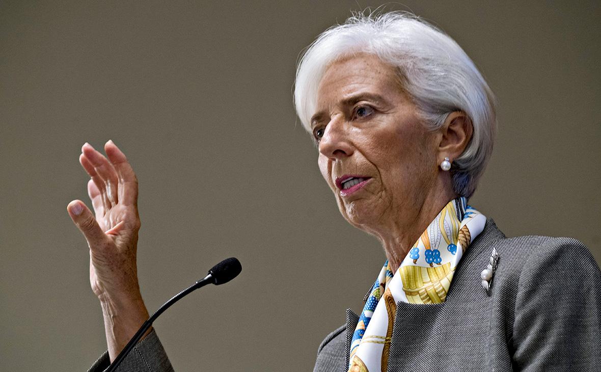 В ожидании сильных изменений: Лагард прогнозирует тяжелые времена для мировой экономики