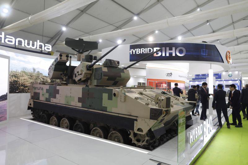 Южная Корея разрабатывает лазерное оружие для дистанционного уничтожения взрывчатки