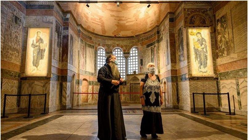 Эрдоган еще один православный храм отдает под мечеть