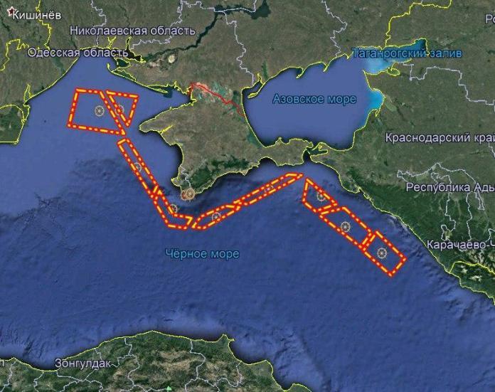 Оккупанты обустроили «линию Маннергейма» возле Крыма: карта