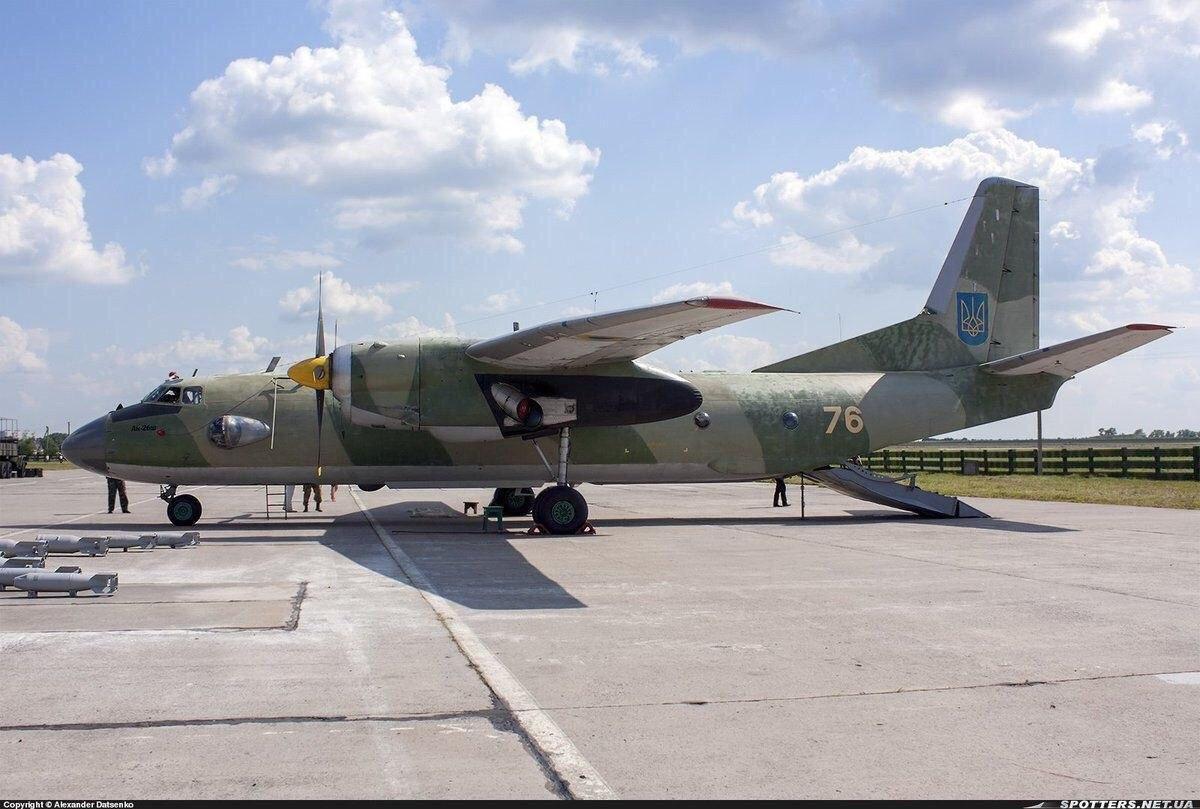 Катастрофа Ан-26 ВС ВСУ под Чугуевым