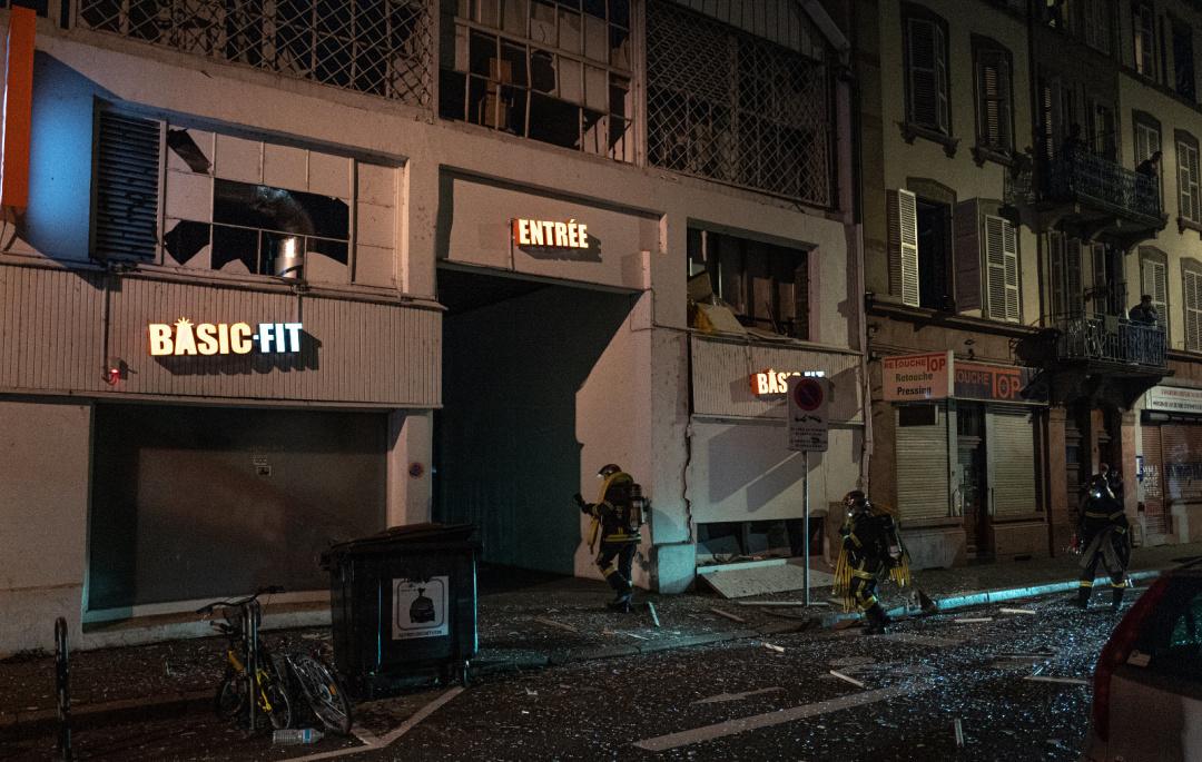 Потужний вибух пролунав у центрі Страсбурга: поліція розпочала розслідування