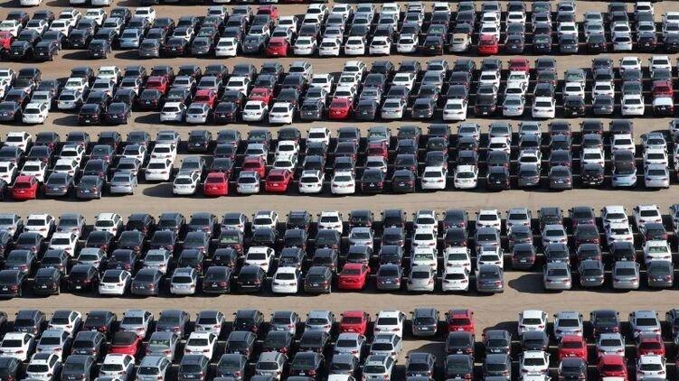 Украину заполонят европейские авто по низкой цене