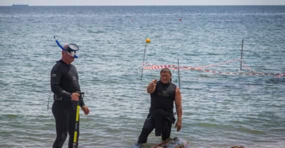 Акулу спіймали в морі біля берегів Одеси: неймовірні кадри