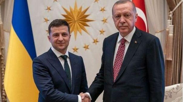 Эрдоган награжден орденом князя Ярослава Мудрого I степени: вручал Зеленский
