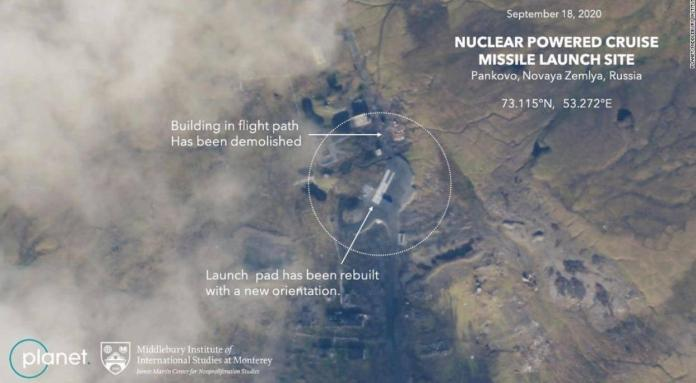 РФ хочет возобновить испытания ракеты с ядерной энергоустановкой: опубликованы спутниковые снимки