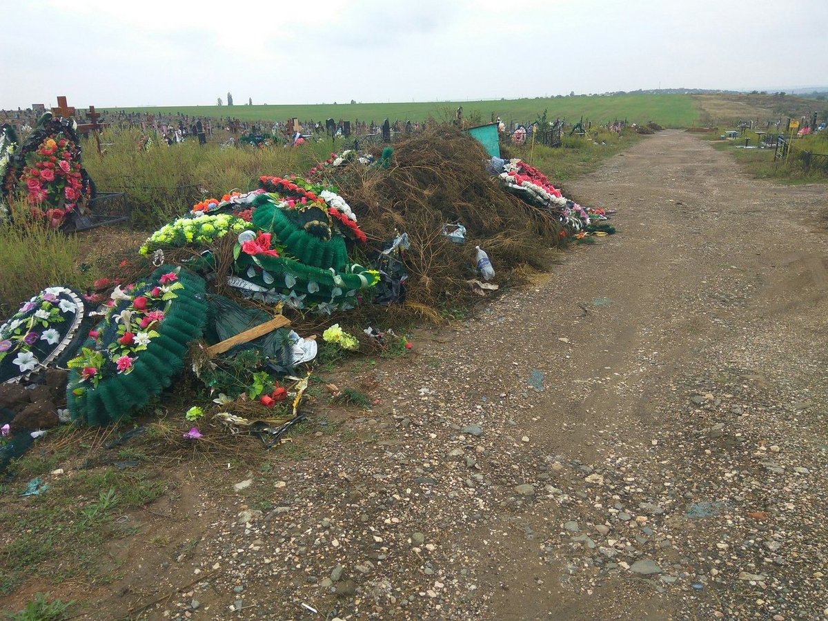 В оккупированном Симферополе уже негде хоронить людей: кладбища практически заполнены