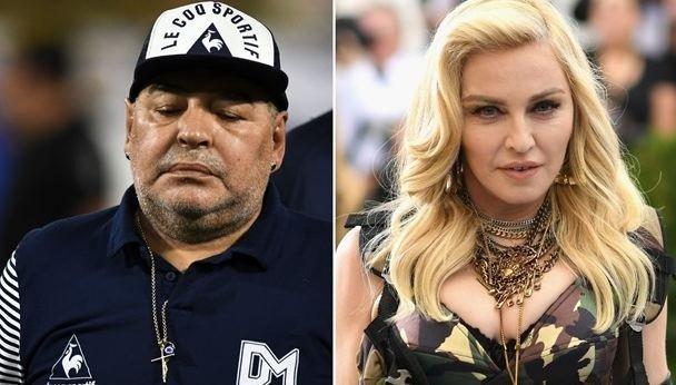 Американцы после смерти Марадоны начали прощаться с Мадонной