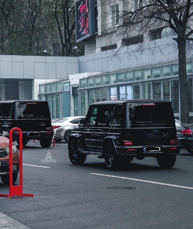 Гепа повернувся? У Харкові засвітився розкішний кортеж – два авто коштують понад 36 млн (фото)