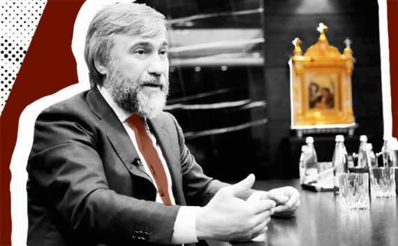 Новинський впав в істерику через закон про обов'язкове обслуговування українською мовою