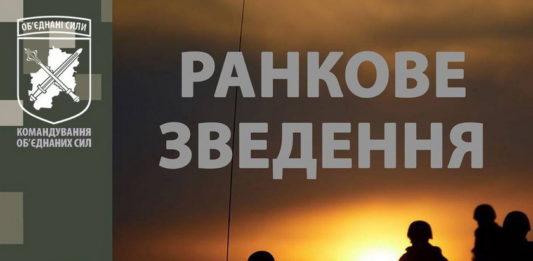 Доба в ООС: окупанти одинадцять разів порушили «режим тиші», у ЗСУ є поранений