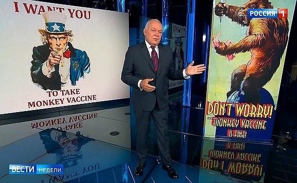 Фейки русских СМИ: «Крепкий орешек» Лукашенко, вакцина, превращающая в обезьян, балаган для зоофилов