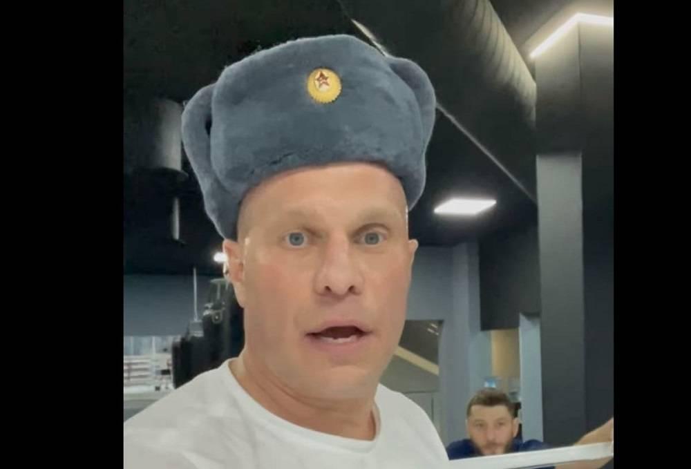 Ківа знову записав відео в шапці-вушанці з червоною зіркою і послав на ** й українців