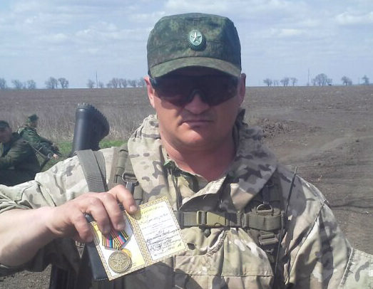 Потери оккупантов: на Донбассе ликвидирован российский наемник «Бес». ФОТО