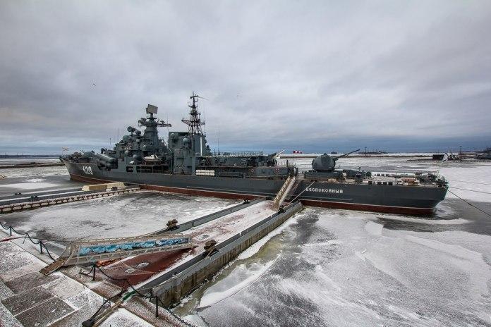 Российский офицер украл два гребных винта с миноносца Балтийского флота