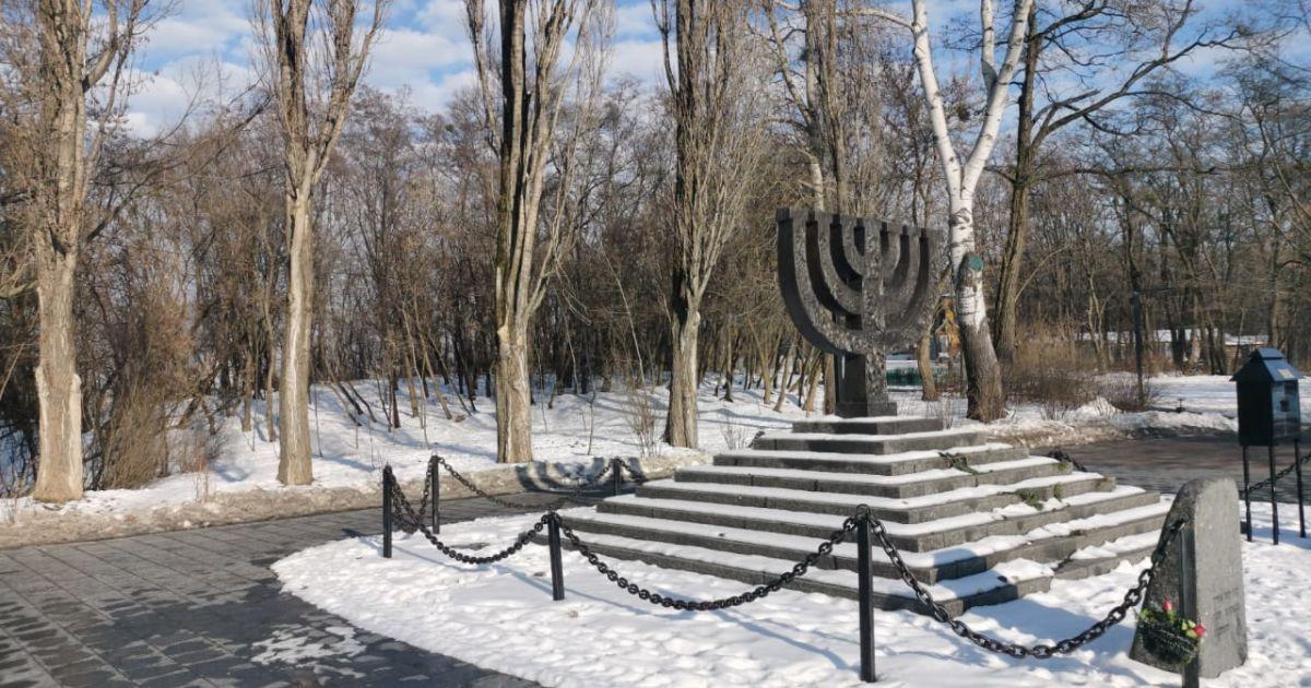 У будівництві тимчасової синагоги у Бабиному Яру побачили російську провокацію: деталі
