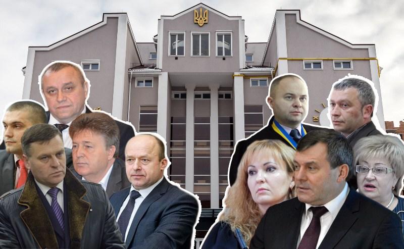 """В Україні судді- це одна міцна сім""""я. 174 – саме таку кількість родичів вказали волинські судді у своїх деклараціях."""