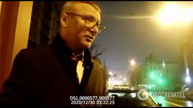 """""""Він синій наглухо"""": Заступника віцепрем'єр-міністра спіймали п'яним за кермом (відео)"""