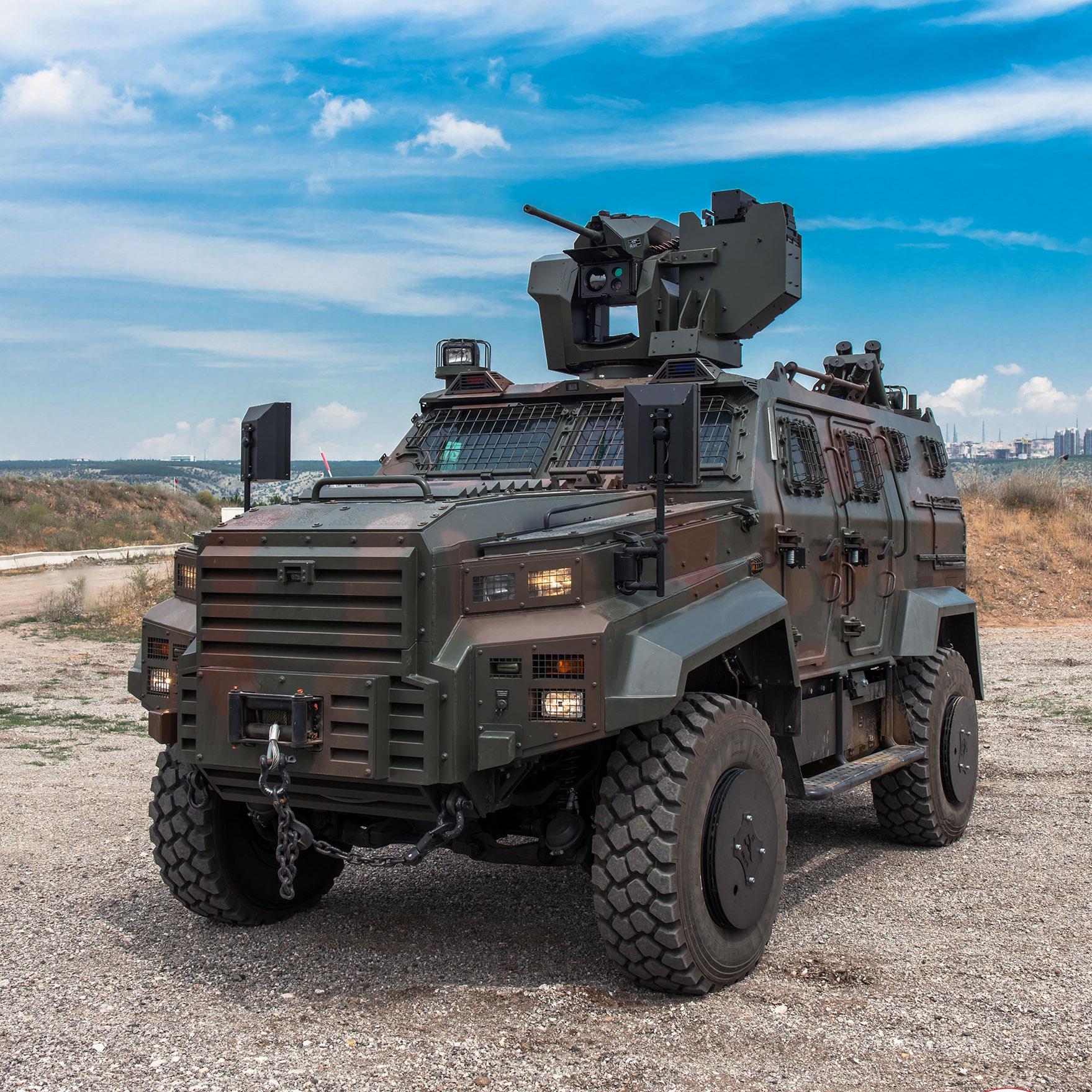 Венгерская армия начала получать на вооружение турецкие бронированные машины Ejder Yalçın