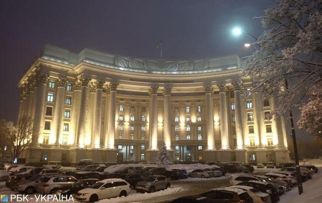 МИД Украины сделало заявление из-за подавления протестов в РФ
