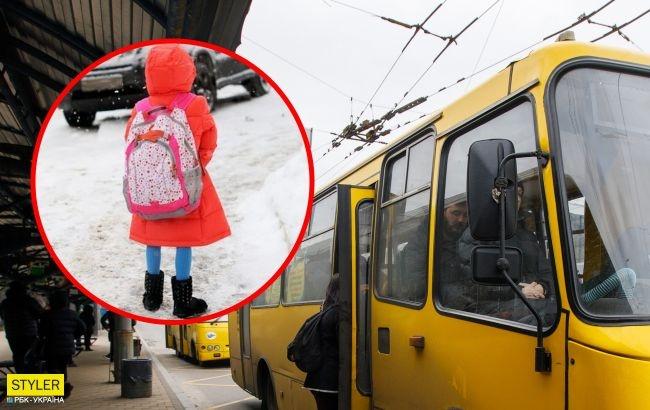 В Херсоне водитель маршрутки выгнал на улицу ребенка с эпилепсией