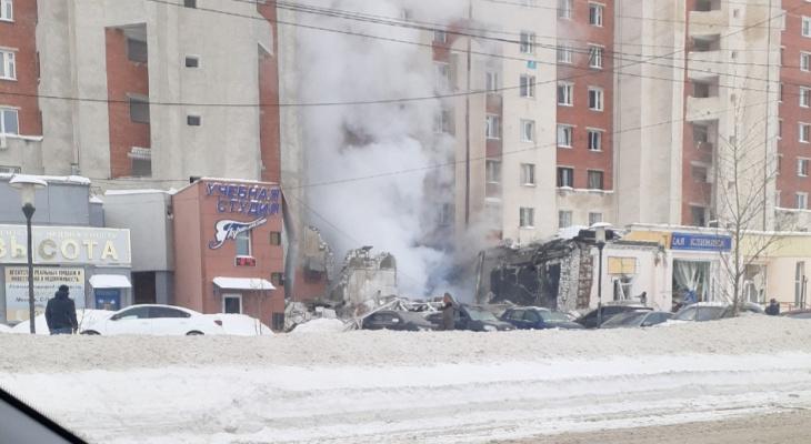 В РФ произошел взрыв у станции метро: опубликовано видео с места катастрофы