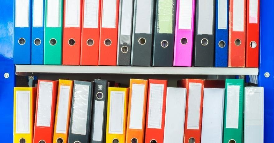 Организуйте свой офис с помощью цвета папок регистраторов