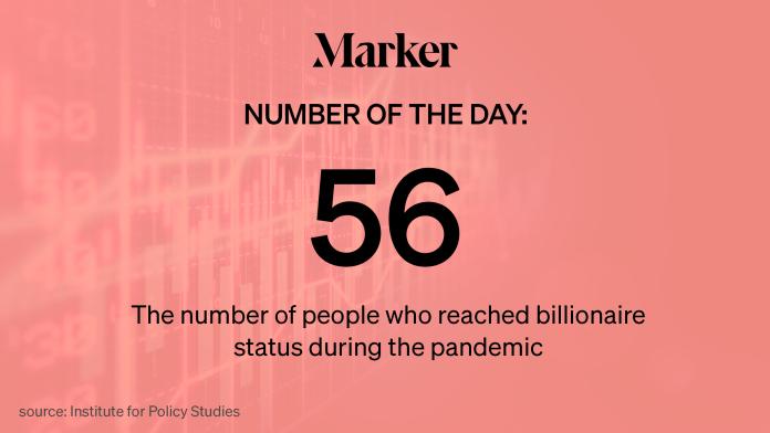 Пандемия породила 56 новых американских миллиардеров