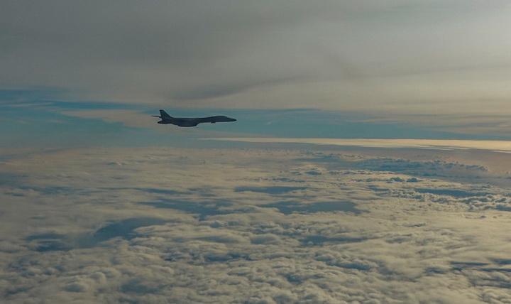 Стратегические бомбардировщики B-1B Lancer ВВС США совершили первые полеты в Норвегии. ВИДЕО