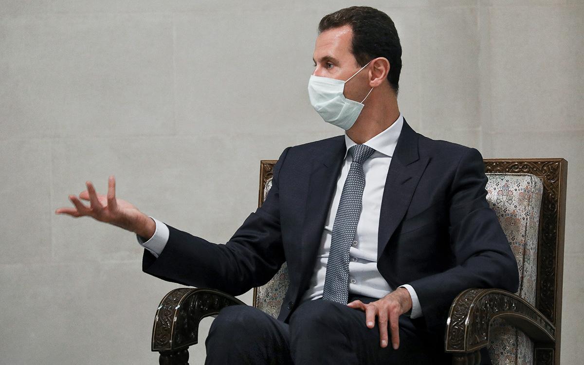 Заболевание Башара Асада коронавирусом нанесло репутационный удар по России