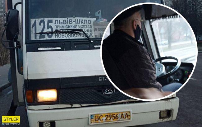 Скандал під Львовом: водій маршрутки накинувся на ветерана АТО і обізвав його свинею