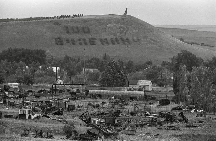 Окупована територія Луганської області…це найзмістовніша ілюстрація того, що приносить з собою «русский мир». Апокаліптичних масштабів ро….б всього і всіх!
