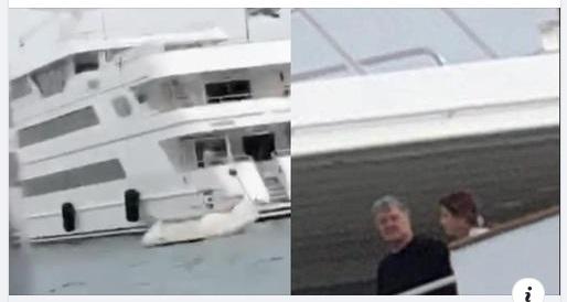 «Петро забери свої абрикоси назад»: хлопці з АТО пробрались до яхти Порошенка. Чим дуже злякали Марину.