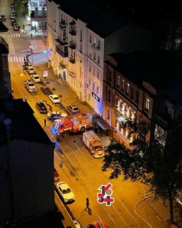 Пламя охватило отель в Харькове: в огненной ловушке оказалось 10 людей, кадры ЧП