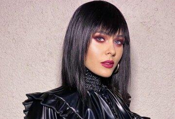 Санина из The Hardkiss сразила образом для «Маскарада», зацепив конкурентку из шоу «Маска»: «Такая красота стоит…»